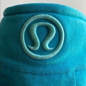 Lululemon Scuba Hoodie Blue Teal/Turquoise Sz 2